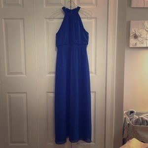 WToo Royal Blue dress